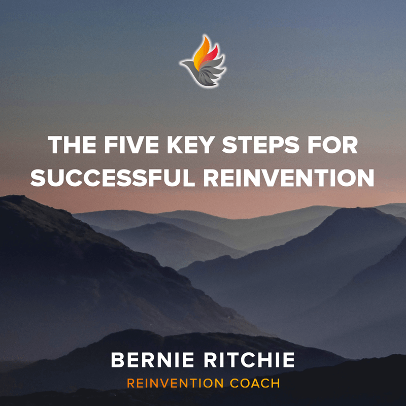 The five key steps for successful reinvention